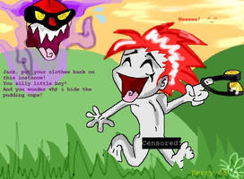Jack Goes Bare By:PinkHedgehog