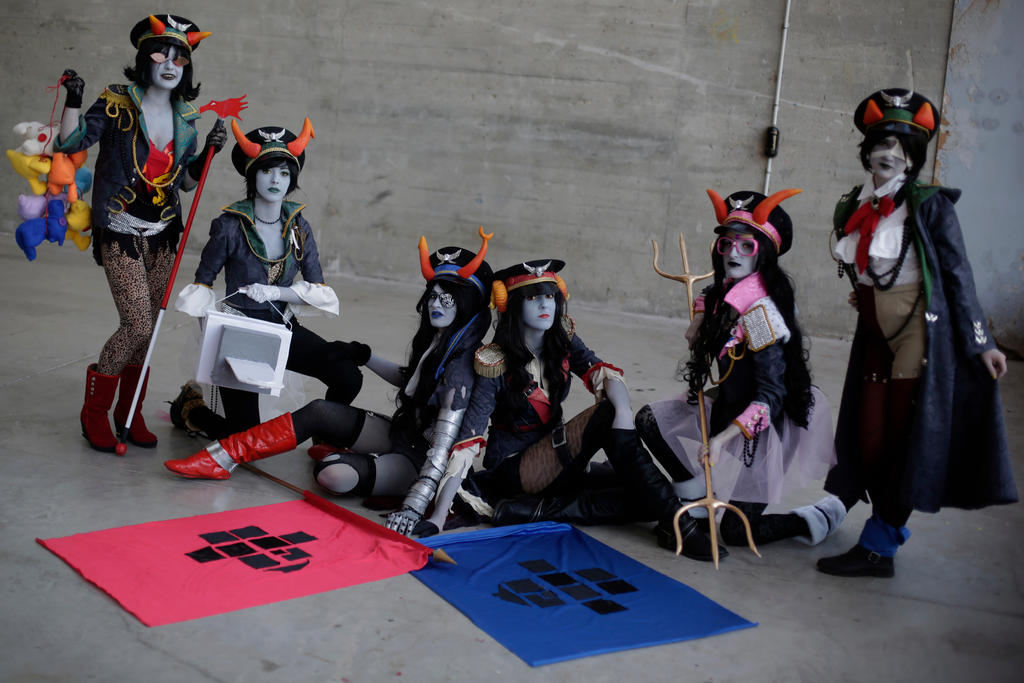 Girls rule the world - Militarystuck cosplay by blanelle29