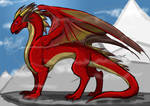 Dragon Guard - Red Dragon