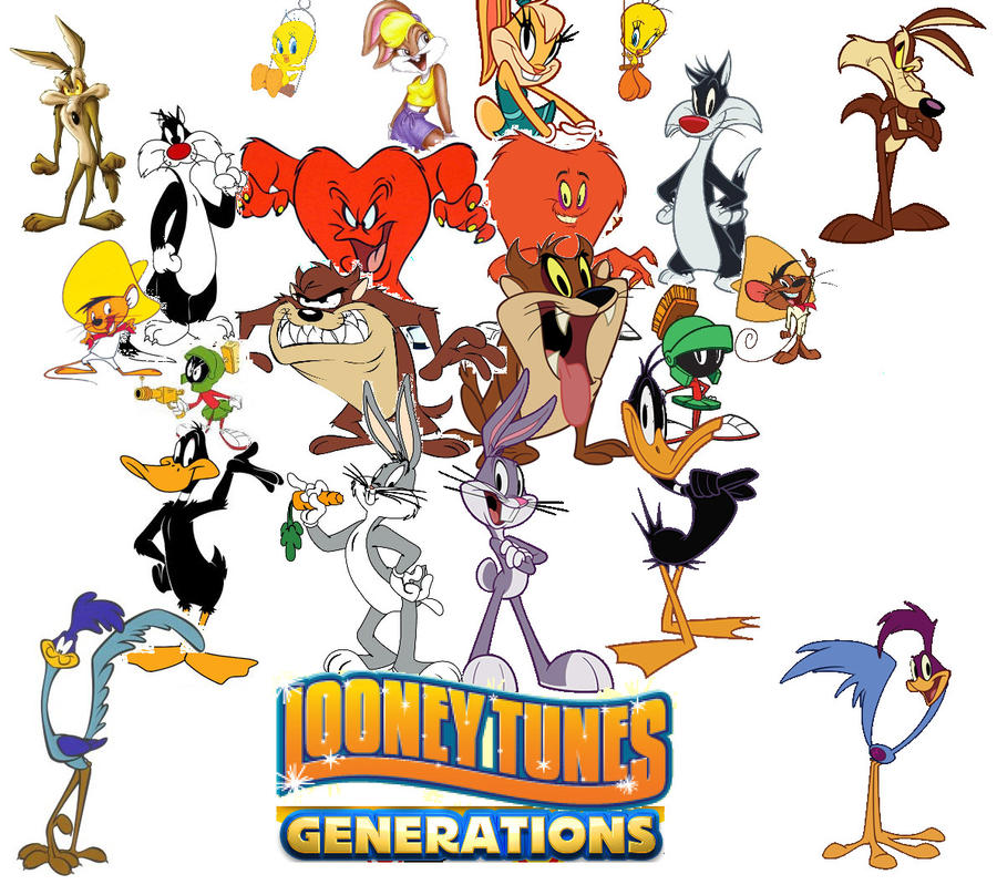 Looney Tunes Generations by zigaudrey