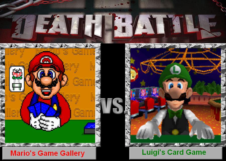 death lucky battle mario vs luigi by zigaudrey on deviantart