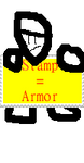 Stamp-Stamp is Armor by zigaudrey