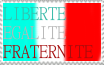 Stamp-Liberte Egalite Fraternite by zigaudrey