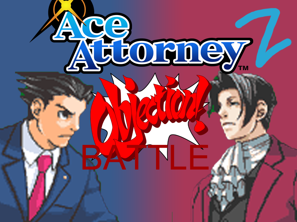 SCRATCH-Ace Attorney-OBJECTION BATTLE by zigaudrey