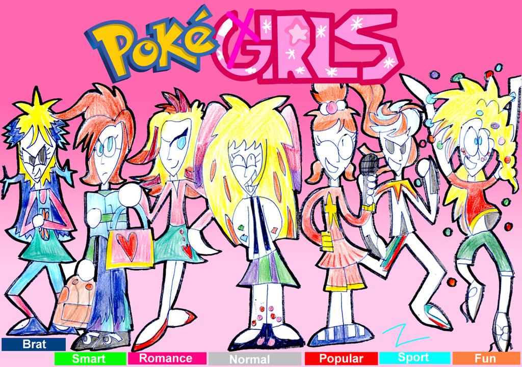 Pokegirls by zigaudrey