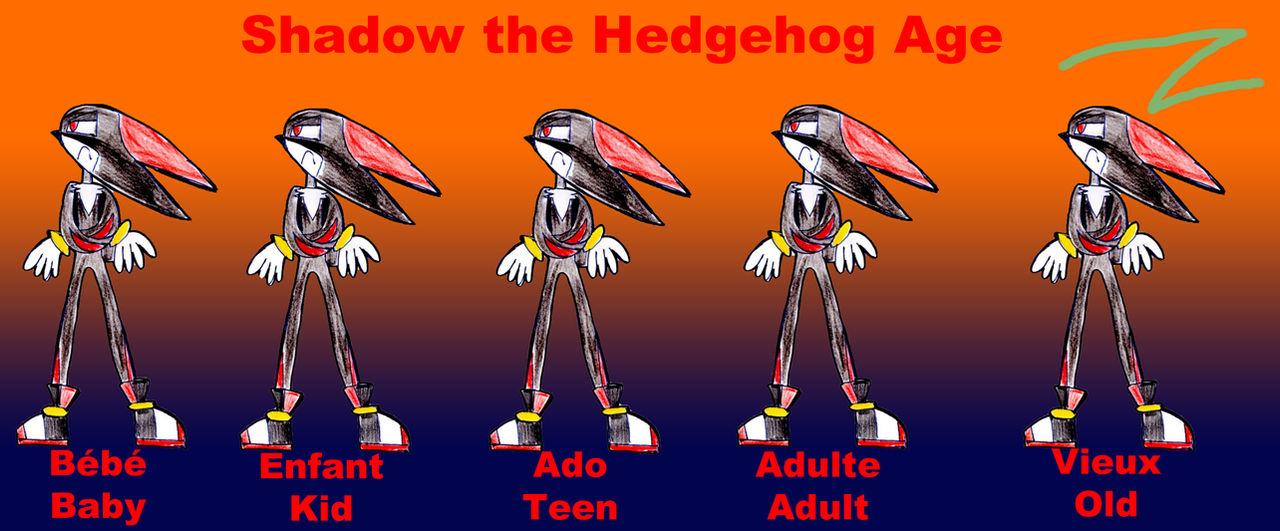 Shadow The Hedgehog Age by zigaudrey on DeviantArt