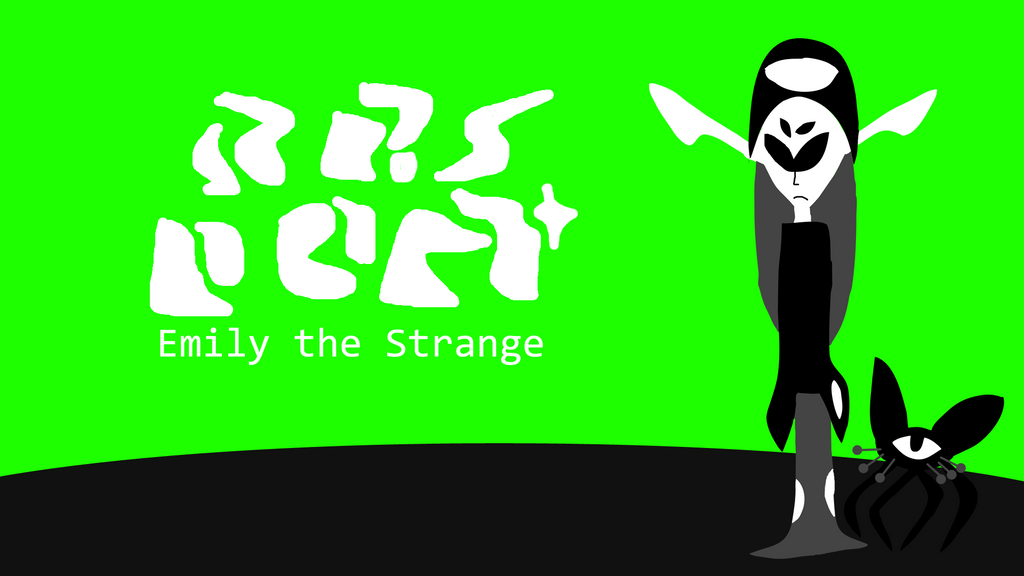 Emily the Strange-Wallpaper by zigaudrey