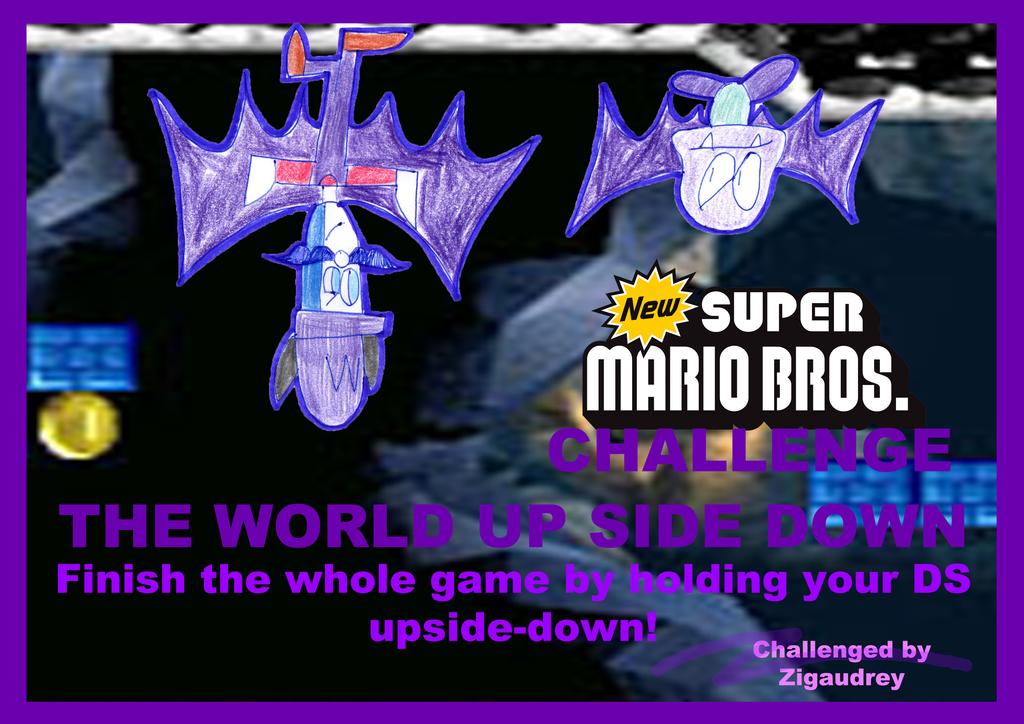 New Super Mario Bros-CHALLENGE by zigaudrey