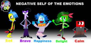 Inside Out-Negative Emotions