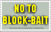 Stamp-NO to Block-Bait by zigaudrey