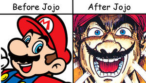 Mario-Before and After Jojo