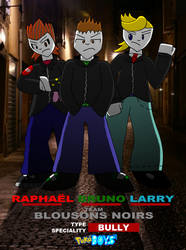 PokeBoys-Team Blousons Noirs by zigaudrey