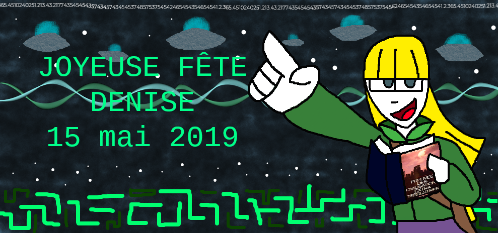 Bonne Fete Denise-15th may 2019 by zigaudrey