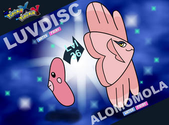 Neo XY-Luvdisc evolves into Alomomola by zigaudrey