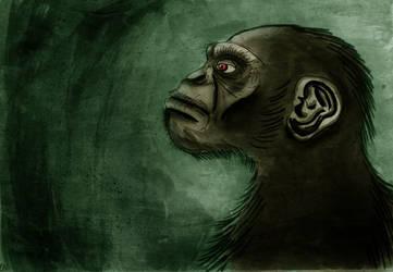 Chimpanzee by Lime88
