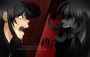 The monster inside... by Shina-Anahaku