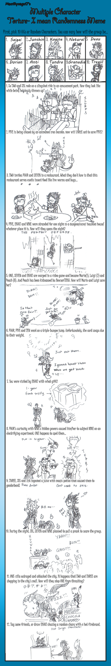 Multiple Torture Meme [GTNJKDADST] by vergilsaigakuzai