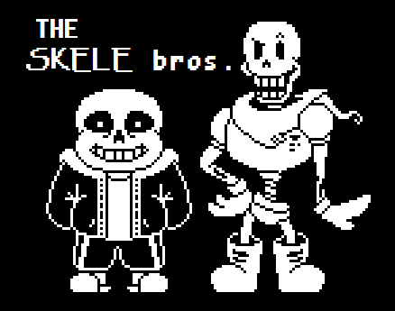 Undertale Sans And Papyrus Custom Battle Sprites By