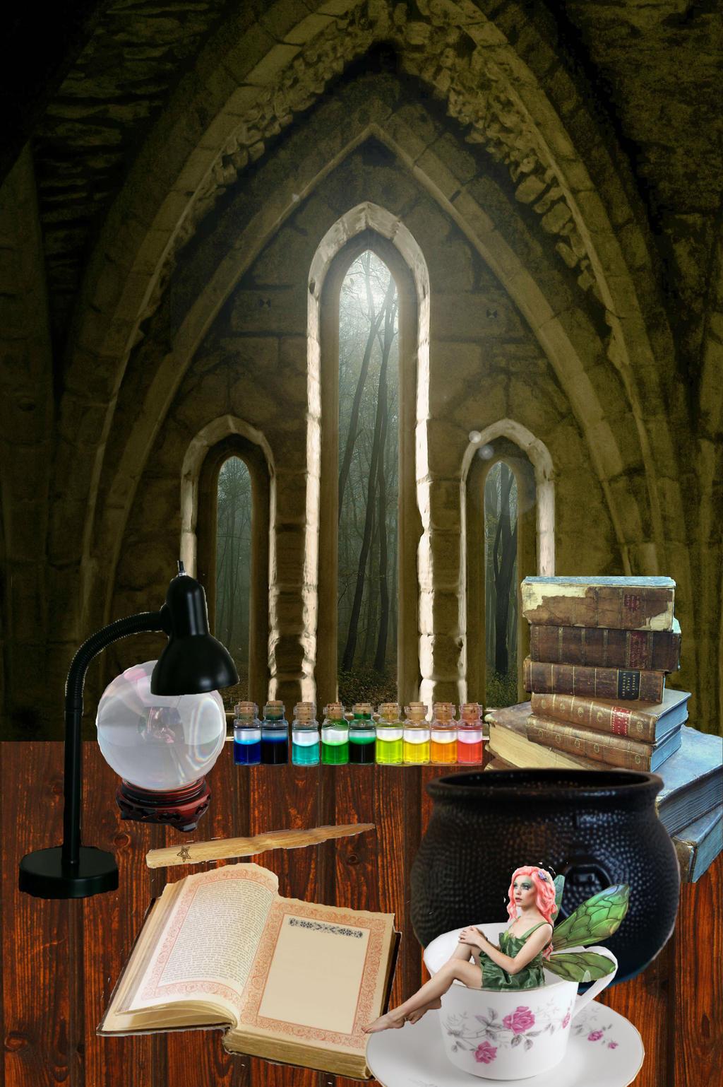 Witch's Desk