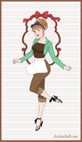 Pinup-Princess-Cinderella peasant
