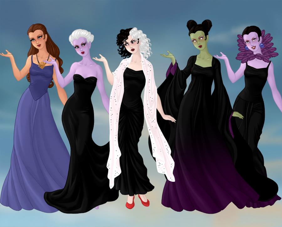 Disney Female Villains By Esmeraldabelle13 On Deviantart