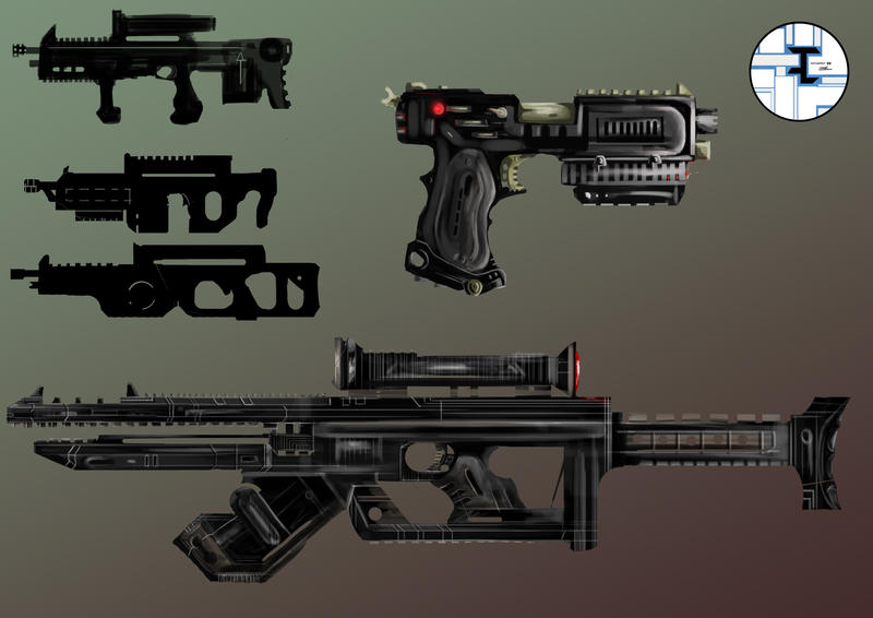 Railgun concept by BnW-JACK on DeviantArt