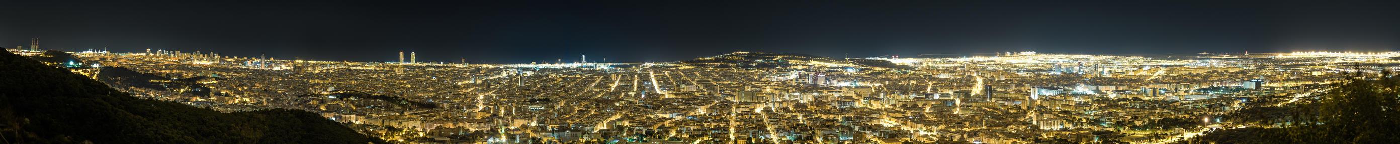 Panorama Barcelona by IoanBalasanu