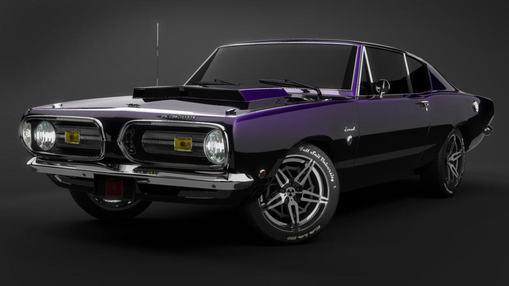 1968 Hemi Cuda By Typotter On Deviantart