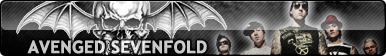 A7x   Avenged Sevenfold  Special Fan Button By Req by cawthon26