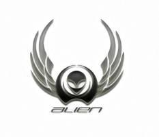 alien bike logo by c-o-r-t-e-z