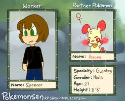 Pokemonsen Application: Spencer Hale
