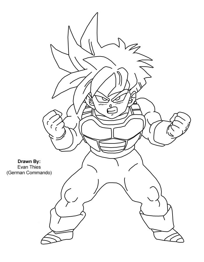 Super Saiyan Gohan by germancommando on DeviantArt