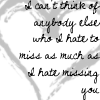 I Hate Missing You by OhSweetSerenity71892