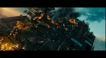 Transformers movie sence.