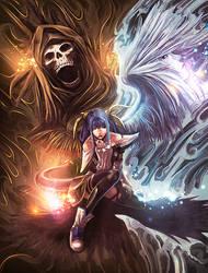 Angel vs Demon by Renan-DS