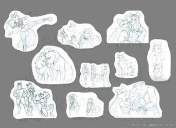 Road Rovers Sketchdump