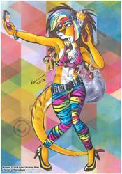 Art Trade:  Terrie the Thylacine