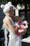 ::Queen Serenity and Baby::