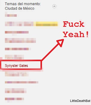 Synyster Gates in Twitter by LittleDeathBat