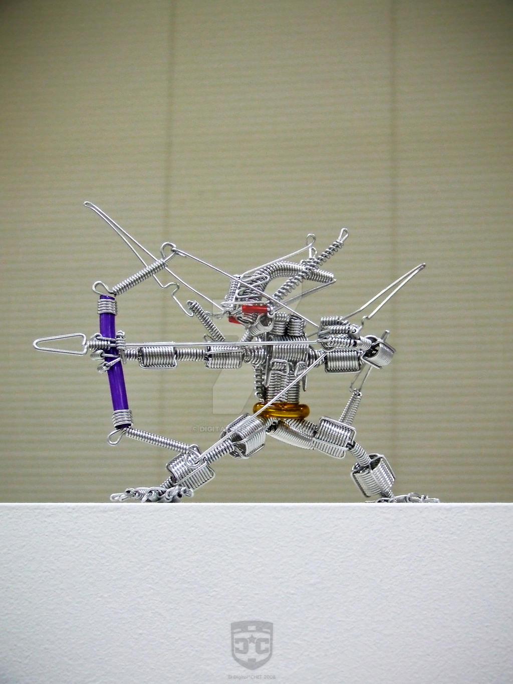 The Wire Archer by digitalchet