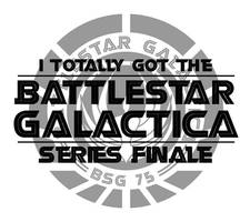 BSG Series Finale TShirt Print by digitalchet