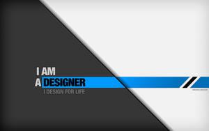 I AM A DESIGNER by digitalchet