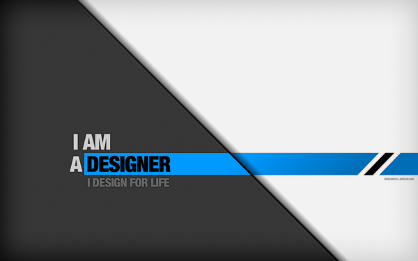 I AM A DESIGNER by digitalchet