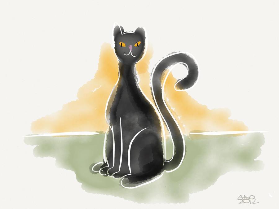 Kitty by digitalchet