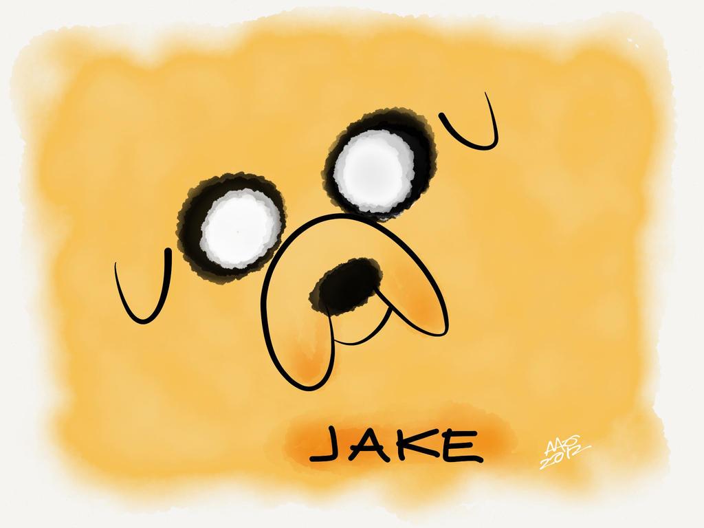 Jake The Dog by digitalchet