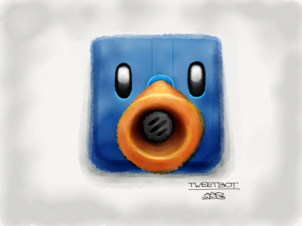 Tweetbot App Icon by digitalchet