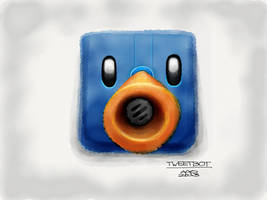 Tweetbot App Icon by digitalchet