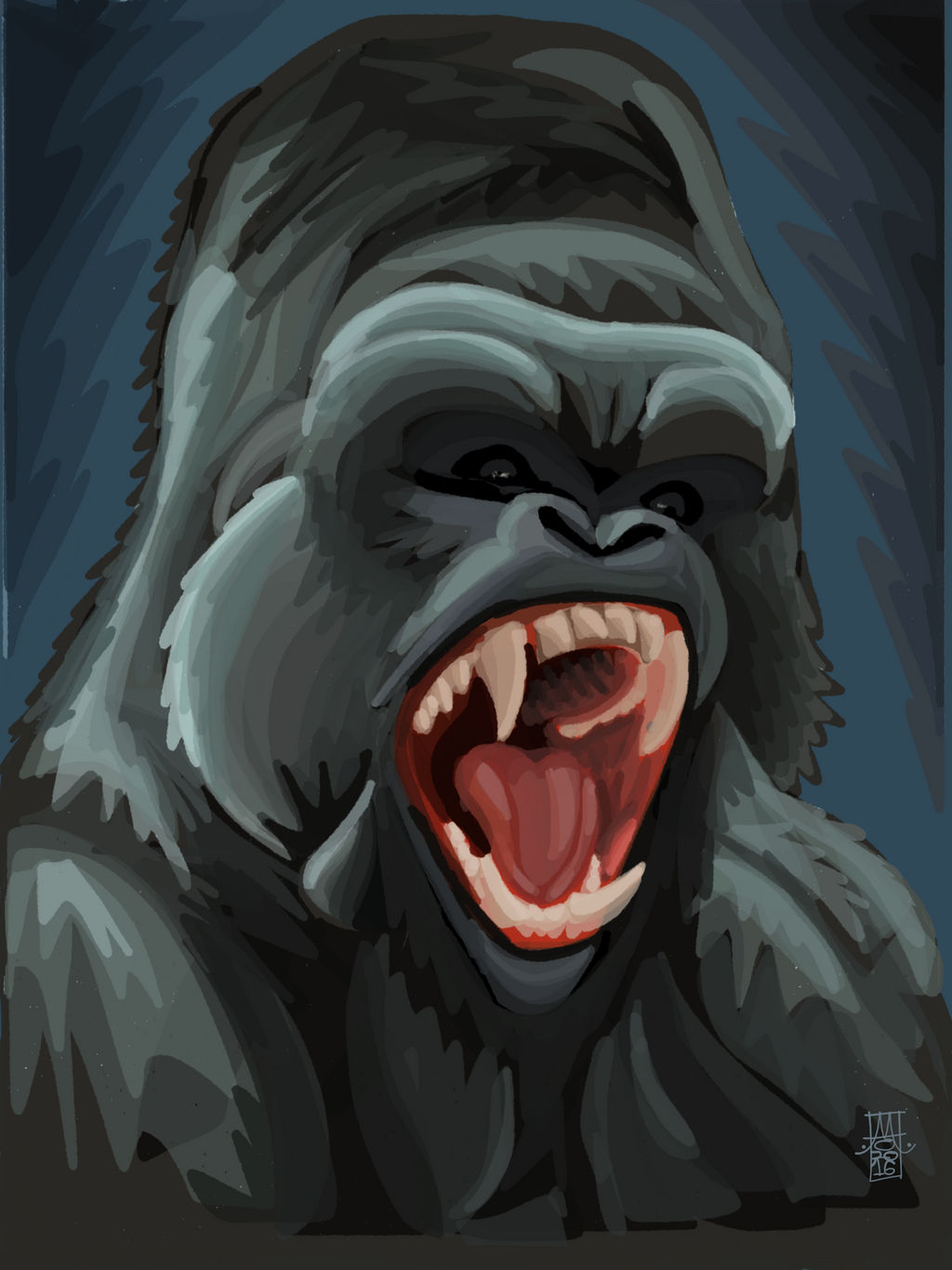 Silverback by digitalchet