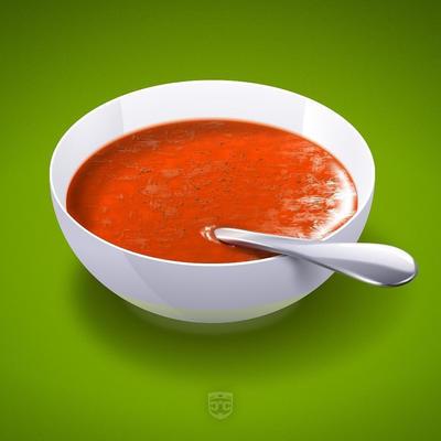 Perfectly Peppered Gazpacho by digitalchet