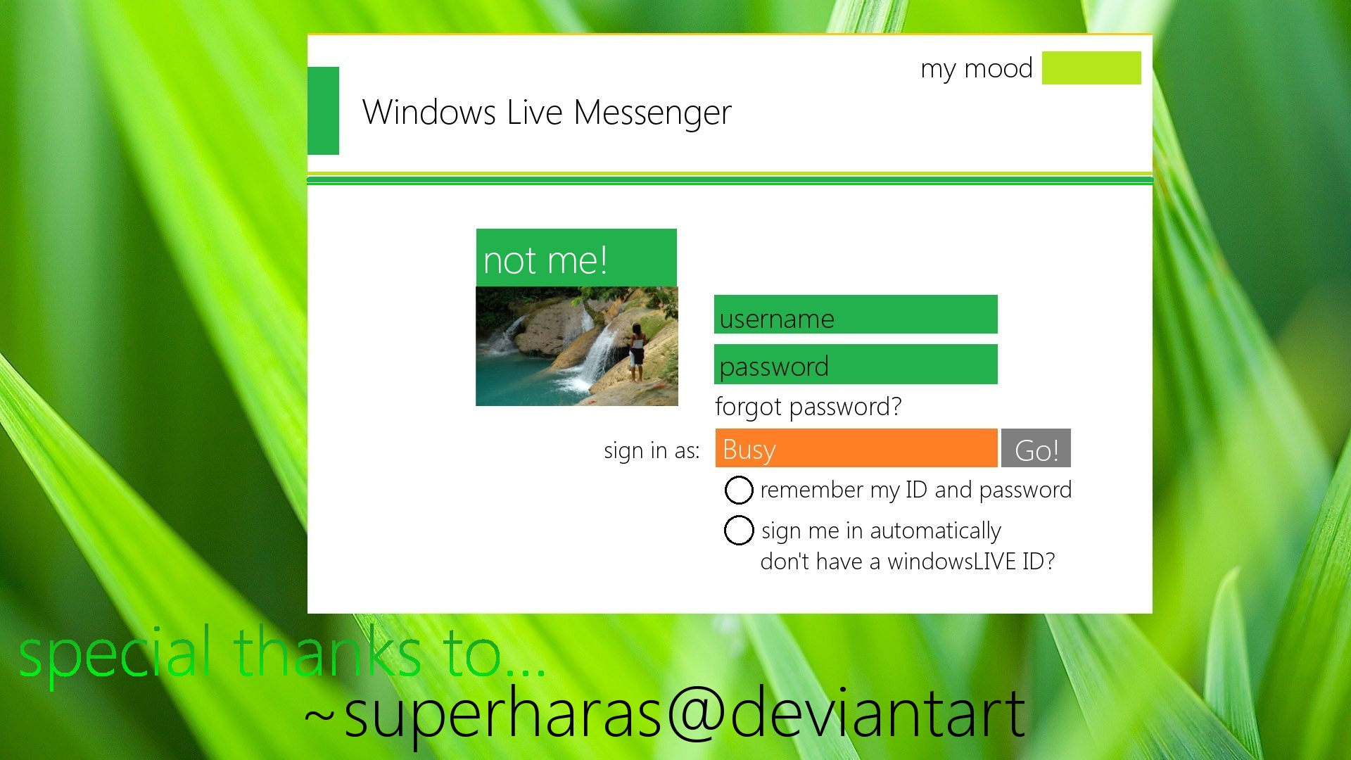 Themes For Windows Live Messenger 2011 Windows Live Messenger Metro